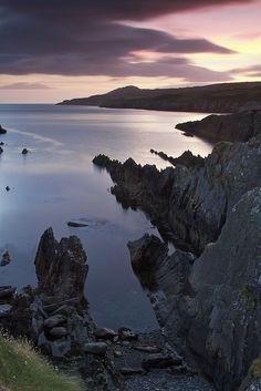 Sunset at Sheep's Head, County Cork, Ireland (by brissychic) #nosinspira
