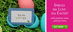 """Put the kids lunch in plastic eggs for Easter... and then add a little """"#Lunchbox Love"""" without all of the DIY!  What a time saver"""