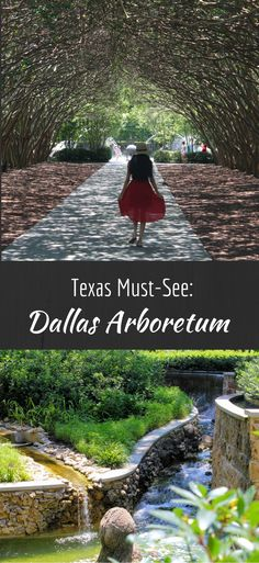 Looking for a bucket list Texas destination? The P2E team has you covered with a complete guide to the Dallas Arboretum. #texastravel