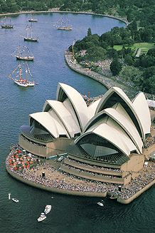 Sydney Opera House, Australia. Ove Arup was engaged early in the design, and began to turn a daring concept into a physical reality | Arup