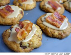 bacon maple cookies for meat meet