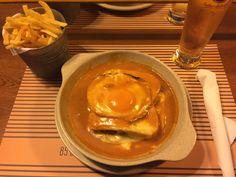 Francesinha_ Portuguese sandwich originally from Porto