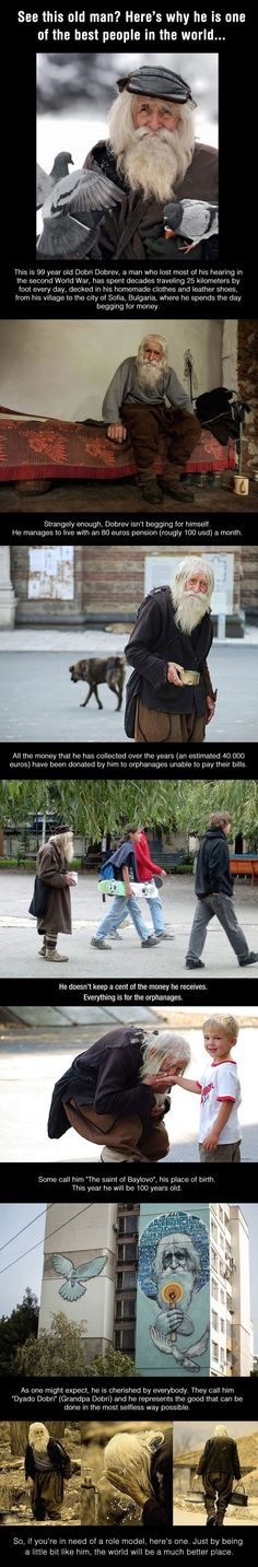 This Beggar Is the Kindest & Most Selfless Man on Earth