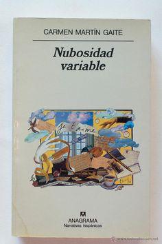 NUBOSIDAD VARIABLE- CARMEN MARTIN GAITE - El Desván de Bartleby C/.Niebla 37. Sevilla