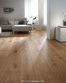 Legendary parquet oak plank per m² Wooden Floors Living Room, Living Room Decor, Bedroom Decor, Timber Flooring, Parquet Flooring, Hardwood Floors, Kitchen Dining Living, Beautiful Interiors, New Homes