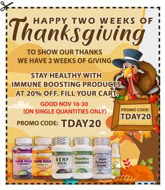 Winter is just around the corner, so is colds and flu. To help you prepare for this cold season, Whole Family Products has the perfect present for you this 2019 Thanksgiving. Vitamin D3 Deficiency Symptoms, Progesterone Cream, Thanksgiving Day Parade, Natural Supplements, Reduce Inflammation, Give Thanks, Flu, How To Stay Healthy, Natural Health