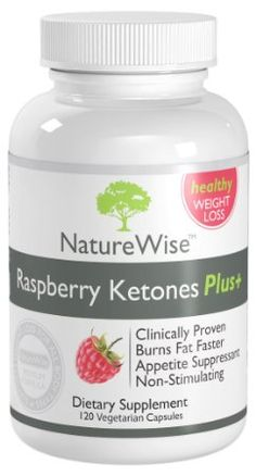 Amazon.com: NatureWise Raspberry Ketones Plus+ Weight Loss Supplement and Appetite Suppressant, 120 Caps: Health & Personal Care