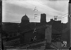 Basílica de San Lorenzo desde el mirador de casa. Santos Baso Simelio. Huesca
