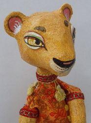 Beautiful hand painted puppets by Run Rabbit Run.