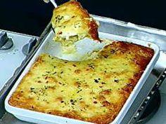 Batatas ao Forno Com Creme de Queijos - Foto de Mais Você na TV
