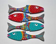Far Out Fish Works ......MINNOWS . ...... Red / Aqua