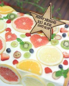 見つけられる?フルーツ断面ケーキのフルーツを、ハート型にするのが可愛い♡ | marry[マリー]