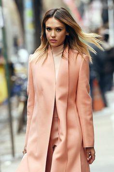 Jessica Alba  – Out in Manhattan – March 2015