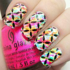 alygaterrr #nail #nails #nailart