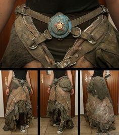 Steampunk. Skirt. Post apocalyptic.