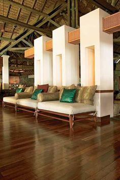 Reception Hotel Belle Marre Plage. Mauritius