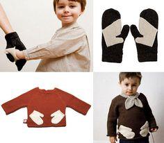 Handschoenen om te delen