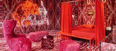 maurizio galante & tal lancman's bedroom for AD intérieurs arouses a surreal dreamscape