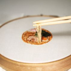 Fun and realistic miniature food embroidery by Japanese artist Ipnot   #art #craft #embroidery #food #foodart #foodembroidery #ipnot #japan #miniature #opticalillusion #photorealism