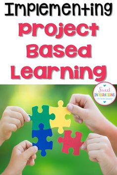 When implementing Project Based Learning, teachers and students can think about different types of challenges or problems. Problem Based Learning, Inquiry Based Learning, Cooperative Learning, Project Based Learning, Early Learning, Stem Projects, School Projects, School Ideas, 3rd Grade Classroom