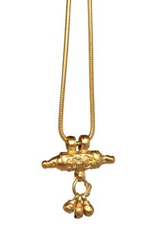 Antique Indian Charm on a Gold Chain. One from the new collection. Opium, 414 Kings Road, Chelsea, London