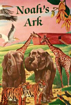 Noah's Ark Personalized Children Books Animals by MyPersonalStory