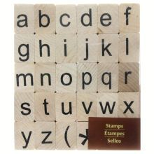 Lower Case Alphabet Stamp Set by Recollections