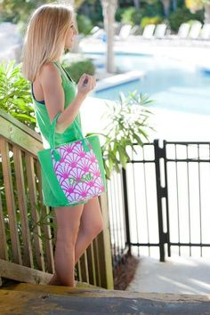 Personalized Cooler Lunch Bag Insulated Beach Tote
