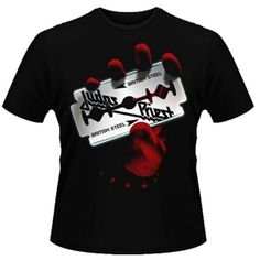 Men's Judas Priest British Steel T-Shirt (Black)
