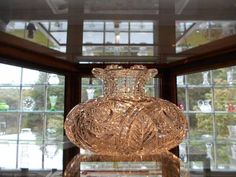 Dorflinger Glass Museum, Hawley, PA..MAGNIFICENT