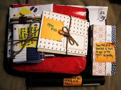 send lovely packages to friends