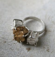 Macha Jewelry, unique non-traditional fine jewelry, engagement, mens signet rings & wedding bands sustainably custom handcrafted in Brooklyn, NYC Stone Jewelry, Jewelry Rings, Silver Jewelry, Handmade Jewelry, Unique Jewelry, Contemporary Jewellery, Gold Bands, Wedding Ring Bands, Beautiful Rings