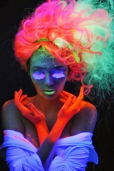 .very colorful #neon #colors #art