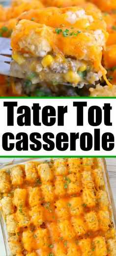 Easy Family Dinners, Easy Meals, Brunch Recipes, Dinner Recipes, Easy Cooking, Cooking Recipes, Best Comfort Food, Comfort Foods, Potato Tots