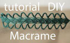 tutorial pulseras macrame cavandoli bracelet macrame