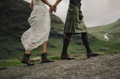 Scottish elopement, Handfasting, Gaelic Blessing, Isle of Skye Wedding, Charlotte Balbier wedding dress, Kitchener Photography