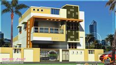 Modern 1 Bedroom House Plans 3d