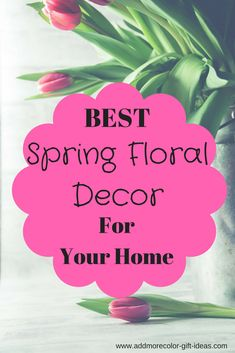 Bright Spring floral decor that would warm the whole place up #springdecor #floraldecor