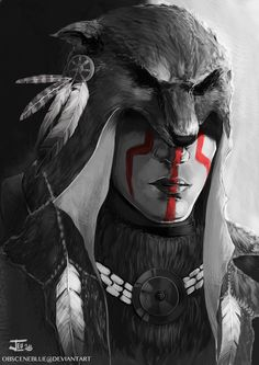 -The Wolf- by obsceneblue on deviantART