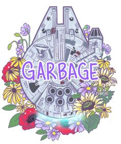 Falcon Garbage - Fastest Hunk of Junk in the Galaxy Art Print