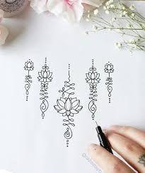 Resultado de imagen de unalome flor de loto