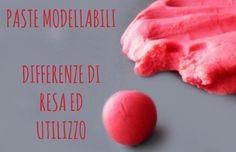 PASTE MODELLABILI: differenti utilizzi e differenti rese! (utility paste...