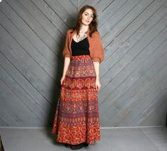 batik print long skirt - Recherche Google