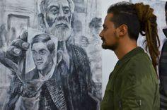 Azucar mag | Alaniz, La calle es un espejo @Open walls