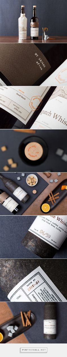 Seven Stills Distillery (Student Project) - Packaging of the World - Creative Package Design Gallery - http://www.packagingoftheworld.com/2016/05/seven-stills-distillery-student-project.html