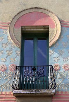 Balcony door, Catalunya