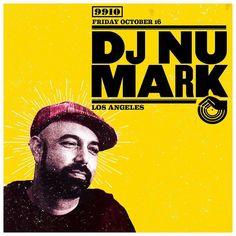 Friday October 16 DJ Nu-Mark (Los Angeles)  Tickets available for purchase October 1st at 3pm at FOOSH and online at yeglive.ca #99tenyeg #basementparty #realdjing #realdjs #djlegend  #turntablism #djnumark by 99tenyeg http://ift.tt/1HNGVsC