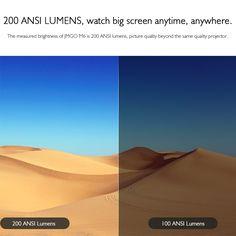 JMGO M6 Portable DLP Projector Sales Online golden - Tomtop Tech Accessories, Pictures, Photos, Grimm