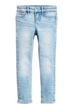 Superstretch Skinny Fit Jeans - Denim extra claro - NIÑOS | H&M ES
