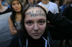 'Not My President': Thousands March in Protest (36 photos)